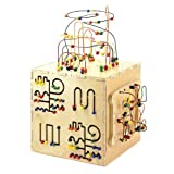 Anatex Kids Children Educational Development Toys Activity Learning Interactive Play Cube With 5 Sides Of Play Kids Children