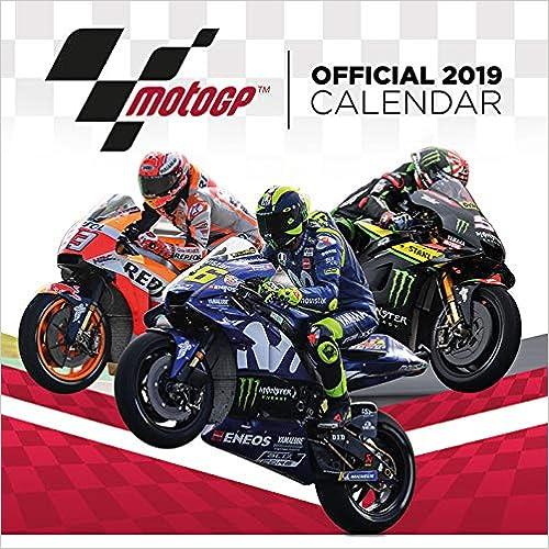 Motogp Official 2019 Square Calendar por Pyramid International epub