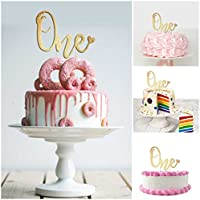Magnificent 1St Birthday Cake Topper Decoration One 6 25 X 4 25 First Bday Personalised Birthday Cards Veneteletsinfo