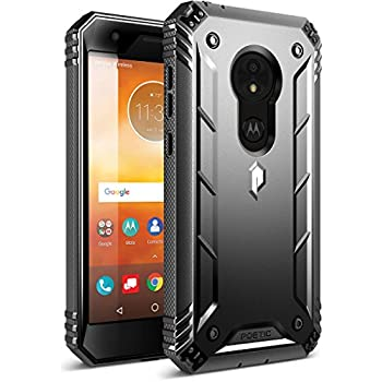 Amazon.com: Moto E5 Plus Rugged Case, Poetic Revolution [360 ...