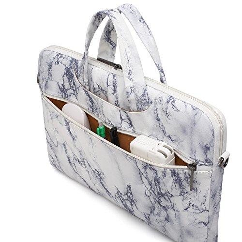 Canvaslife Marble Pattern Laptop Shoulder Case Inch 15.6 Inch