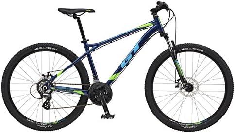 GT bici 27,5 m agresor Comp azul grande: Amazon.es: Deportes y ...