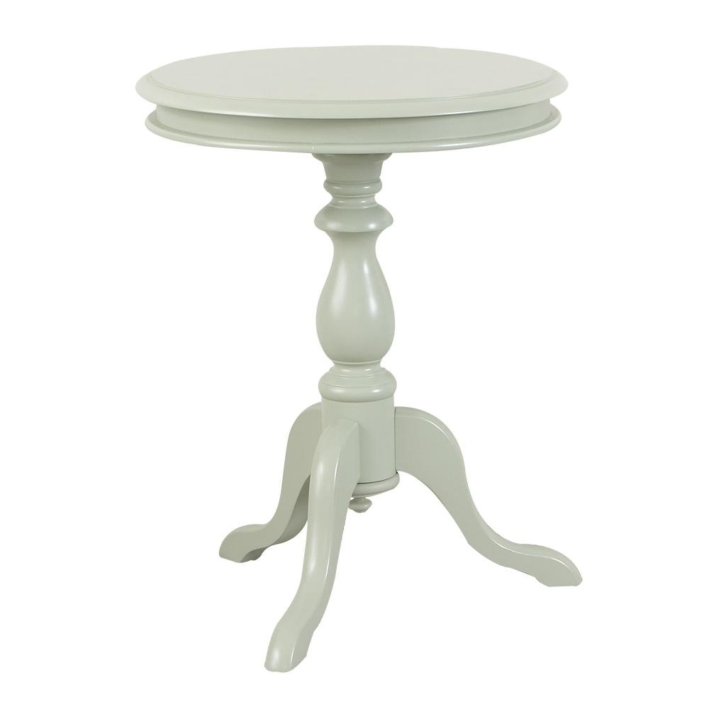 Amazon.com: Carolina Cottage 1925 AP Gilda Pedestal Side Table, Antique  Parchment: Kitchen U0026 Dining