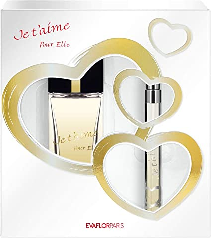 Je T Aime para Elle estuche Eau de Perfume 100 ml/vapo de sac 12 ml: Amazon.es: Belleza