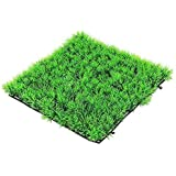 Depory - Planta Artificial para césped, Acuario, pecera, Color Verde