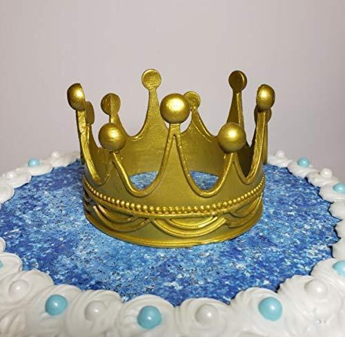 Molde de silicona para tartas, diseño de corona grande, para ...