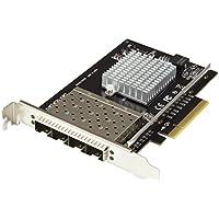 StarTech.com SFP+ Server Network Card - 4 Port Nic Card - Intel XL710 Chip - PCIe Netword Card - 10 Gigabit Ethernet Card
