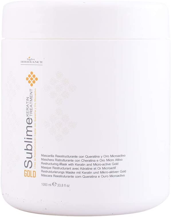 Light Irridiance, Mascarilla de pelo con keratina - 1000 ml.