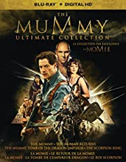 The Mummy Ultimate Collection - Blu-ray + Digital