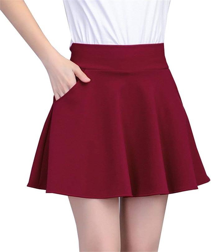 Una Línea Faldas Mujeres Elegante Kilt Corta Falda Damas Estilo ...