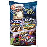MARS Chocolate Spooky Mix Halloween Candy Variety Mix 150-Piece Bag, 70.33 Ounce