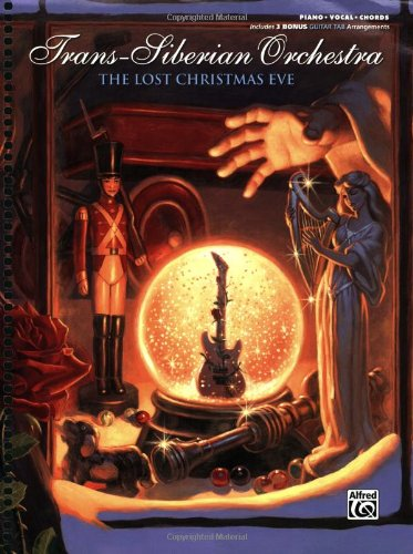 Canyon Sheet Music - Trans-Siberian Orchestra - The Lost Christmas Eve