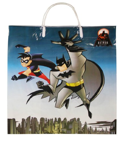 Rubie's Costume Co. 1181 Batman and Robin Trick-Or-Treat Bag, One Size (Pack of -