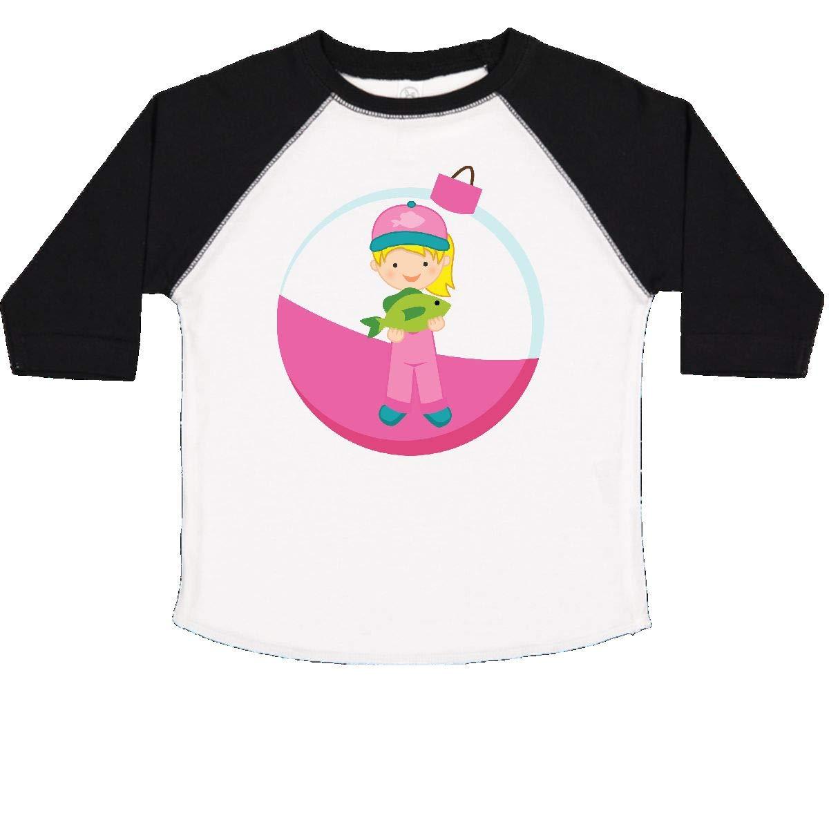 inktastic Girls Fishing Gift Toddler T-Shirt