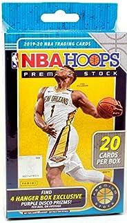 2019/20 Panini Hoops Premium Stock NBA Basketball Hanger Box (20 Cards/Box)