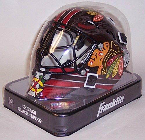 Chicago Blackhawks Goalie (Chicago Blackhawks Franklin Sports NHL Mini Goalie Mask - New in Box)