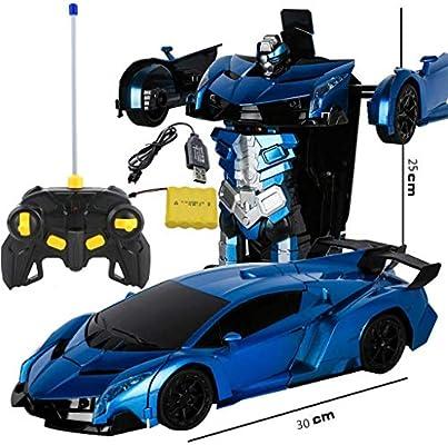 TZSMCMX Modelo de Juguete Transformers Robot de Control Remoto de Coches de Juguete de Coches Transformado Estatuas/Regalos Colecciones de los Recuerdos Crafts (Color : Re): Amazon.es: Hogar
