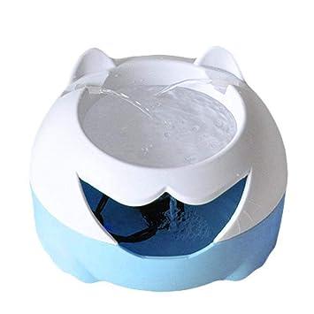 Mlec tech Bebedero Automático Perro Fuente Agua Gatos Mascota Bomba Silenciosa 3L con Luz Nocturna Inteligente Filtración Tipo Profundidad y Circulación ...