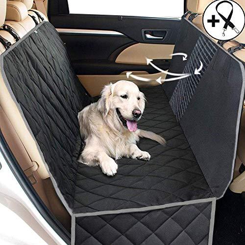 Big Ant Hundedecke Auto Autoschondecke Hund Rücksitz – Hundedecke für die Auto Rückbank wasserdicht – Schutz Autodecke für Hunde mit Seitenschutz zum Hundetransport