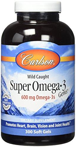 Carlson Labs Super Omega 3 600mg