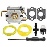 Savior Carburetor 791-182535 with Primer Bulb Gaskets for Troy-Bilt TB10CS TB20CS TB20DC TB65SS TB70FH TB70SS TB90BC Yard Man Y780 YM70SS YM90BC Carb Trimmer
