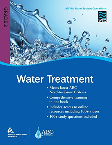 Pdf Engineering Water Treatment Grade 2 WSO: AWWA Water System Operations WSO