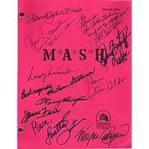 "MASH"" Signed Script by Alan Alda, Loretta Swit, Jamie Farr, William Christopher, Harry Morgan, Mike Farrell, Gary Burghoff, David Ogden Stiers, Larry Linville, Wayne Rogers, McLean Stevenson"