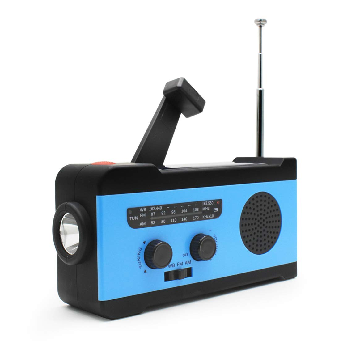 Cool furniture Emergency Solar Hand Mobile Phone Charging AM/FM Multi-Function Radio by Cool furniture