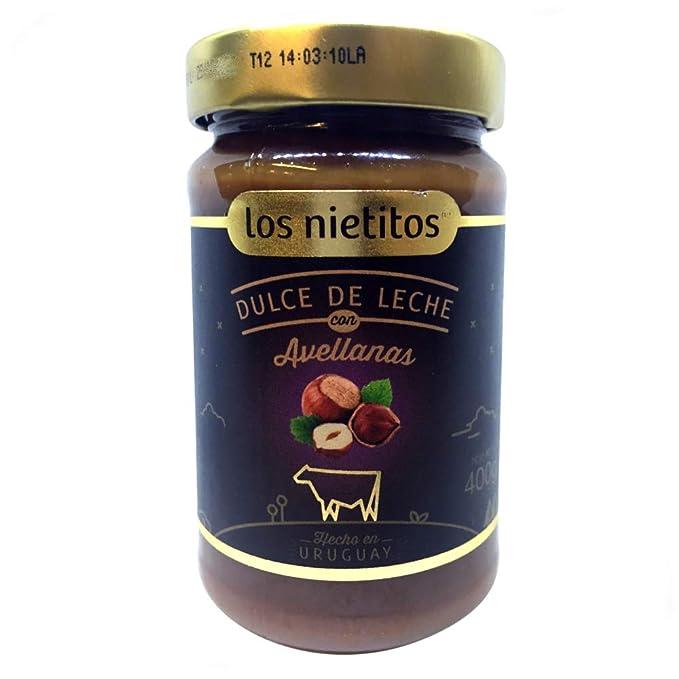 Dulce de Leche con Avellanas Los Nietitos Uruguayo
