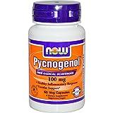NOW Foods - Pycnogenol R 100 mg 60 cap R (Pack of 4)