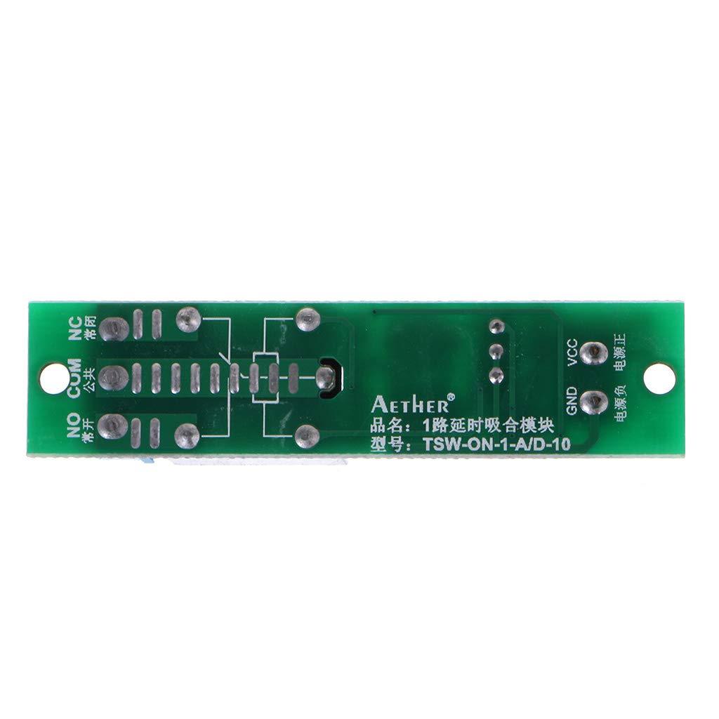 BIlinli Ritardo di attivazione del Segnale DC 12V Ritardo disinserzione Modulo rel/è rel/è di Ritardo 0-25s