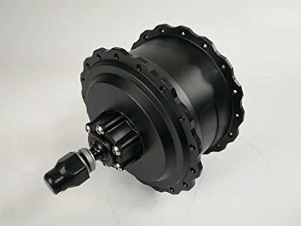 Amazon com : 48V 750w Rear Geared Hub Motor for Fat Tire