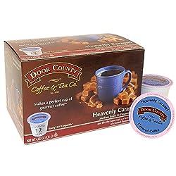 Door County Coffee Single Serve Cups for Keurig Brewers (Double Fudge Cocoa, 72 Count) from Door County Coffee & Tea Co.