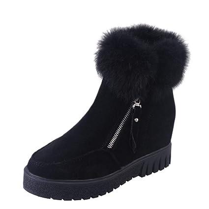 QUICKLYLY Botas De Nieve Mujer,Botines para Adulto,Zapatillas/Zapatos De Invierno Calzado