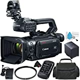 Canon XF405 4K UHD 60P Camcorder with Dual-Pixel Autofocus Bundle with Carrying Case