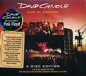 cd david gilmour live in gdansk