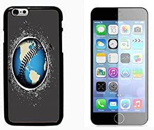 baseball sport Hard Plastic and Aluminum Back Case FOR Apple iPhone 6 6G 4.7