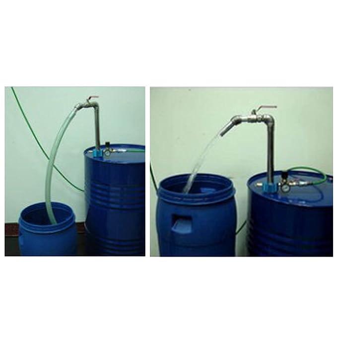 Ajuste Herramientas 50 Gallon neumático de gran caudal aceite y líquido dispensador: Amazon.es: Coche y moto