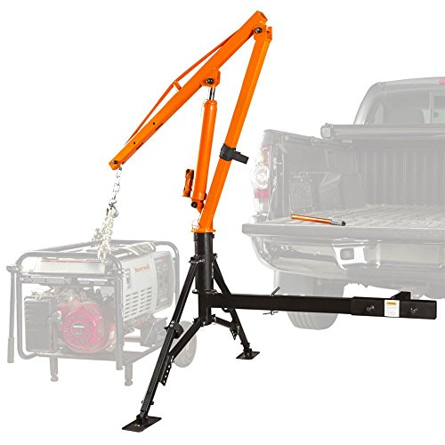 Apex Hydraulic Hitch-Mount Pickup Truck 1,000 lb Jib Crane