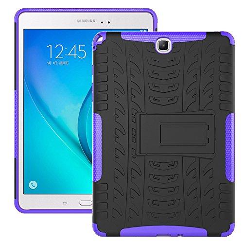 Super Slim Case Cover for Samsung Galaxy Tab A 9.7-Inch Tablet SM-T550 Black - 6