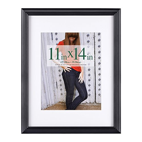 11x14 inch Picture Frame Made of Solid Wood and