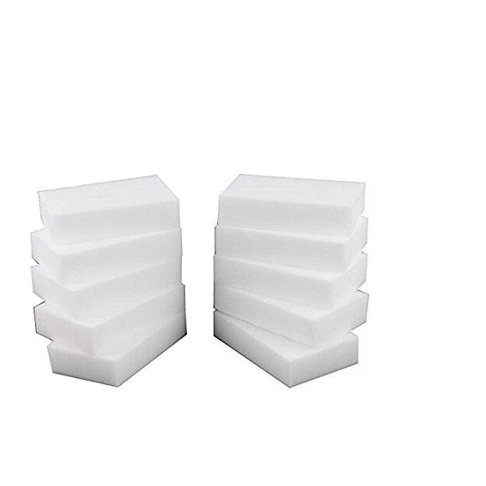 100Pcs/lot ERASER CLEANER MAGIC MELAMINE SPONGE CLEANING 10x6x2CM AHUIM SYNCHKG063401