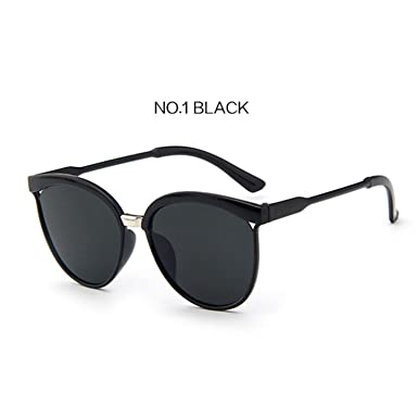 6d05a472870fa Amazon.com  Women Cat Eye Sunglasses Brand Designer Vintage Mirror Sun  Glasses Men Retro Glasses Cateye Female Eyewea  Clothing
