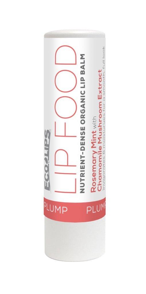 ECO LIPS Lip Food Nutrient-Dense Organic Lip Balm Plump