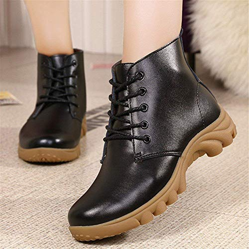 Zapatos Ocio De Tubo Algodón Cálido Eu Vendaje En Mujer Deed Botas 36 's Invierno Y Con O5wq18Tx