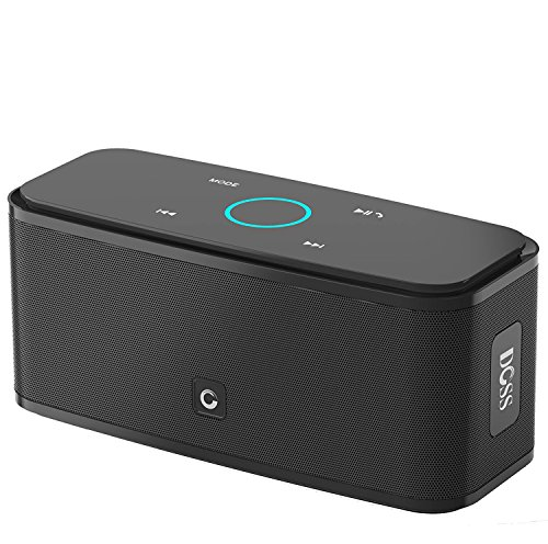 DOSS Touch Wireless Bluetooth V4.0 Portable Speaker with HD Sound and Bass (Black) (Electronic Portable Speaker)