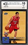 #7: 2009-10 upper deck #234 STEPHEN CURRY golden state warriors rookie BGS BCCG 10 Graded Card