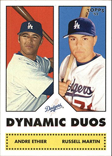 (2006 Topps 52 Dynamic Duos #DD13 Andre Ethier Russell Martin - NM)
