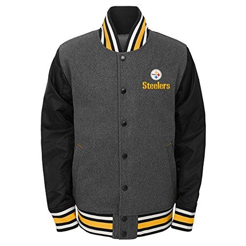 28cff93f9 Pittsburgh Steelers Varsity Jacket