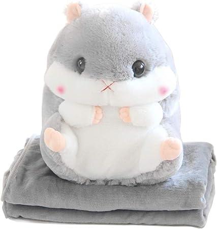MengCat Cartoon Plush Travel Pillow and